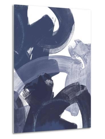 Blue on Blue I-June Vess-Metal Print