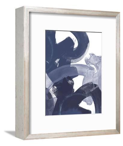 Blue on Blue I-June Vess-Framed Art Print