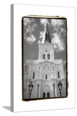 St. Louis Cathedral, Jackson Square I-Laura Denardo-Stretched Canvas Print