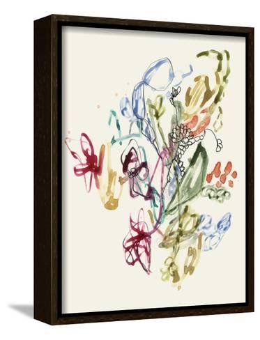 Scribble Arrangement II-Jennifer Goldberger-Framed Canvas Print