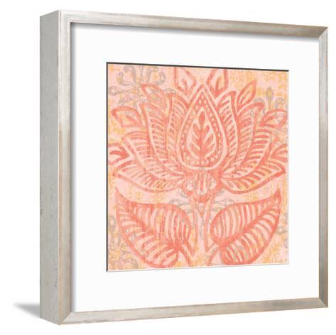 Block Print Paisley II-Leslie Mark-Framed Art Print