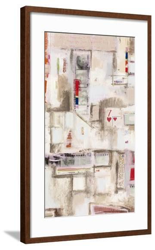 Plans Four I-Nikki Galapon-Framed Art Print
