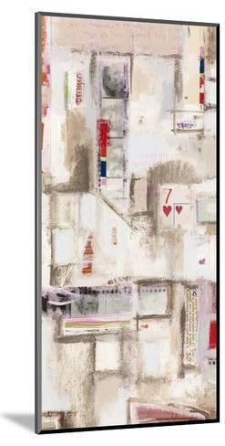 Plans Four I-Nikki Galapon-Mounted Art Print