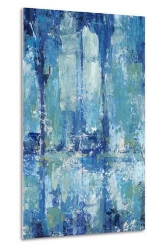 Blue Reflection Triptych II-Tim OToole-Metal Print