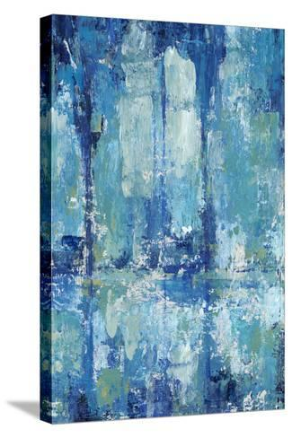 Blue Reflection Triptych II-Tim OToole-Stretched Canvas Print