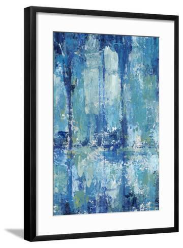 Blue Reflection Triptych II-Tim OToole-Framed Art Print
