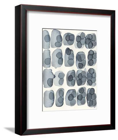 Indigo Five-Nikki Galapon-Framed Art Print