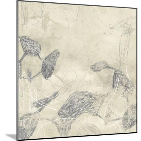 Graphite Inversion II-June Vess-Mounted Art Print