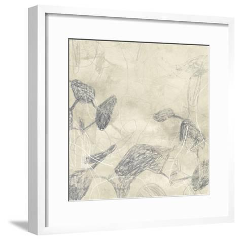 Graphite Inversion II-June Vess-Framed Art Print