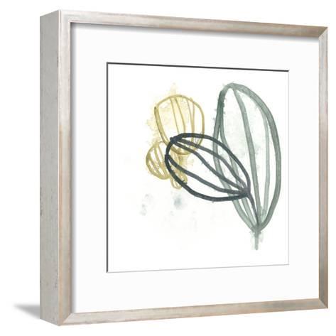 Abstract Sea Fan I-June Vess-Framed Art Print