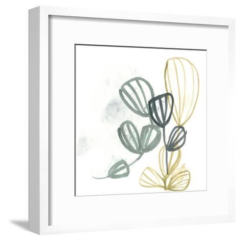 Abstract Sea Fan III-June Vess-Framed Art Print