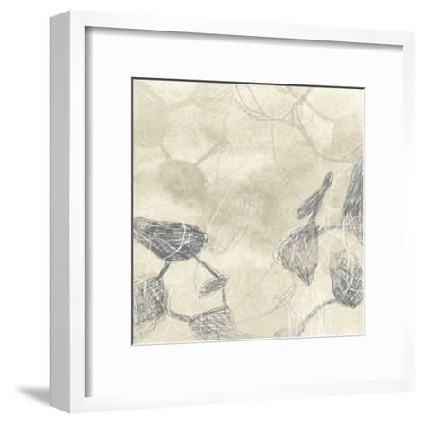 Graphite Inversion I-June Vess-Framed Art Print