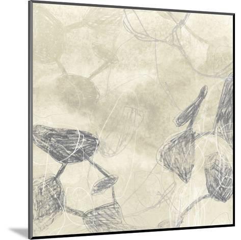 Graphite Inversion I-June Vess-Mounted Art Print