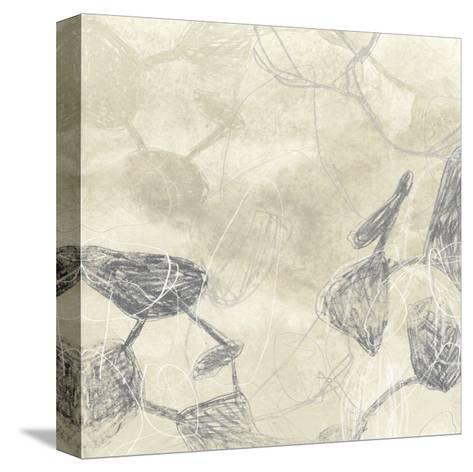 Graphite Inversion I-June Vess-Stretched Canvas Print