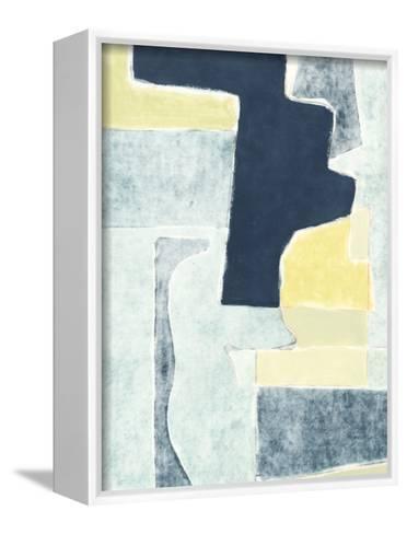 Blue Note V-Rob Delamater-Framed Canvas Print
