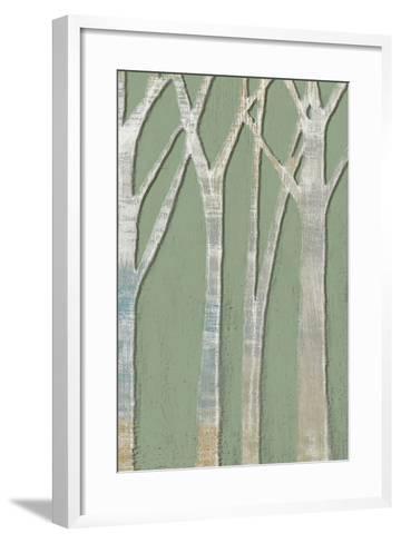 Birchline Triptych III-Jennifer Goldberger-Framed Art Print