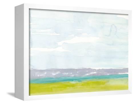 Bluff Beach-Rob Delamater-Framed Canvas Print