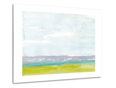 Bluff Beach-Rob Delamater-Metal Print
