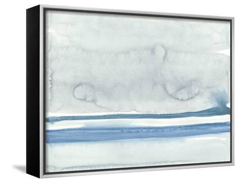 Water Horizon at Sea Ranch I-Rob Delamater-Framed Canvas Print