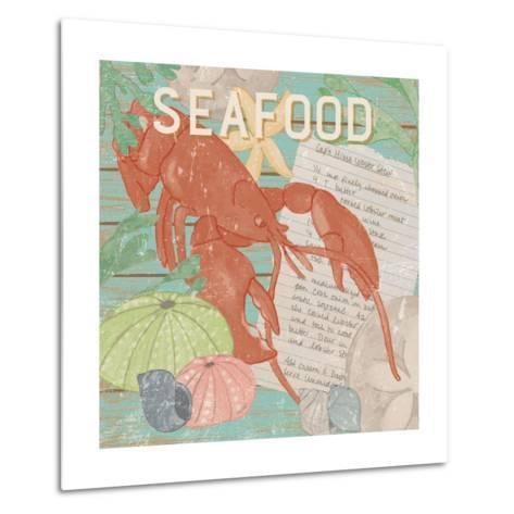 Fresh Seafood II-Leslie Mark-Metal Print