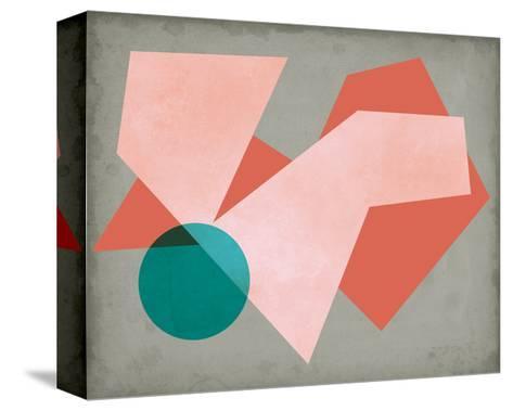 Grey Sunshine I-Sharon Chandler-Stretched Canvas Print