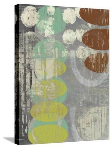 Circles Circle I-Jennifer Goldberger-Stretched Canvas Print