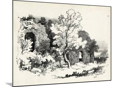 Idyllic Landscape VI-J^d^ Harding-Mounted Art Print