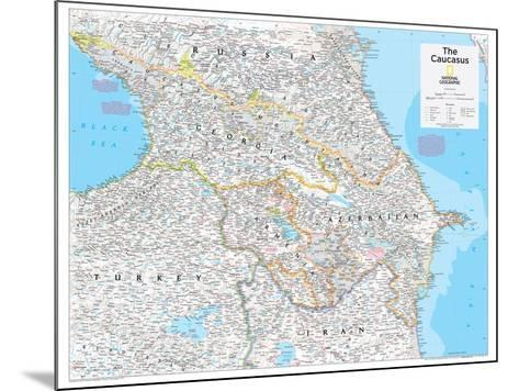 2014 The Caucasus - National Geographic Atlas of the World, 10th Edition-National Geographic Maps-Mounted Poster