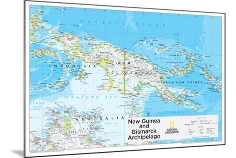 2014 New Guinea - National Geographic Atlas of the World, 10th Edition-National Geographic Maps-Mounted Poster