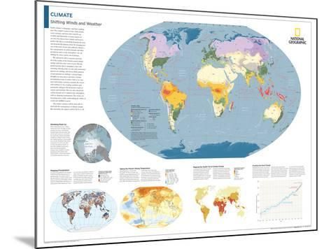 2014 Climate - National Geographic Atlas of the World, 10th Edition-National Geographic Maps-Mounted Poster