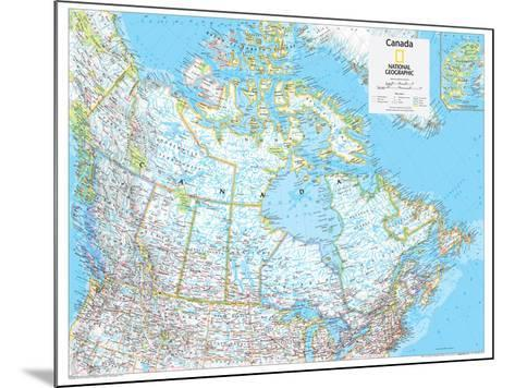 2014 Canada Political - National Geographic Atlas of the World, 10th Edition-National Geographic Maps-Mounted Poster