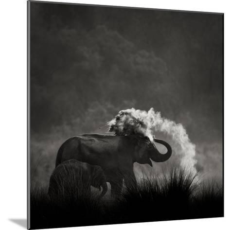 Mud Bath-Ganesh H Shankar-Mounted Photographic Print