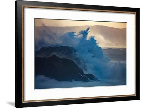 Storm Waves on the Coast of Achill Island, County Mayo, Ireland-Gareth McCormack-Framed Art Print