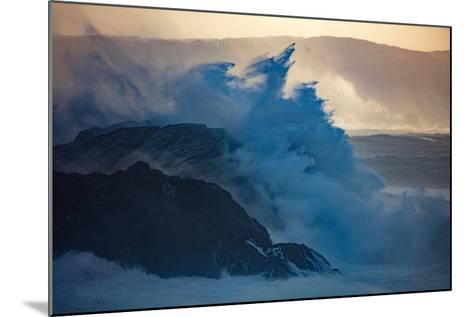 Storm Waves on the Coast of Achill Island, County Mayo, Ireland-Gareth McCormack-Mounted Photographic Print