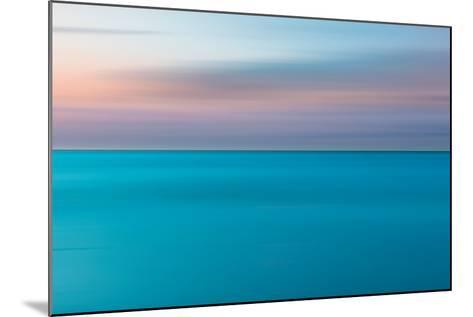 An Abstract Ocean Seascape with Blurred Panning Motion-Jacek Kadaj-Mounted Photographic Print