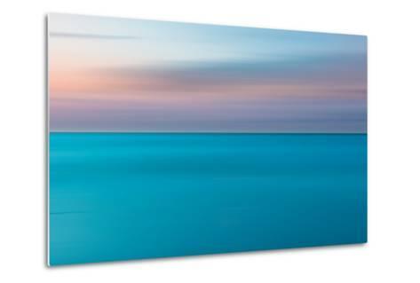 An Abstract Ocean Seascape with Blurred Panning Motion-Jacek Kadaj-Metal Print