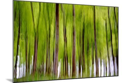 An Abstract Created by Intentional Camera Movement-John Lunt-Mounted Photographic Print