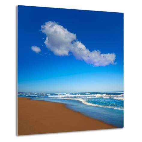 Tavernes De Valldigna Beach Dunes in Valencia of Spain-Naturewolrd-Metal Print