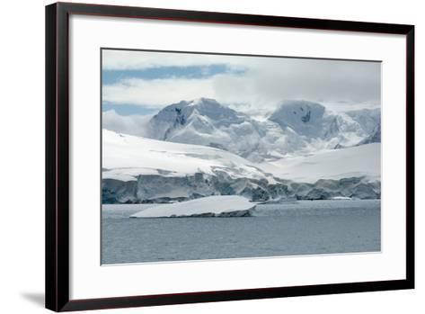 Neko Harbor, Andvord Bay, Antarctic Peninsula-dani3315-Framed Art Print