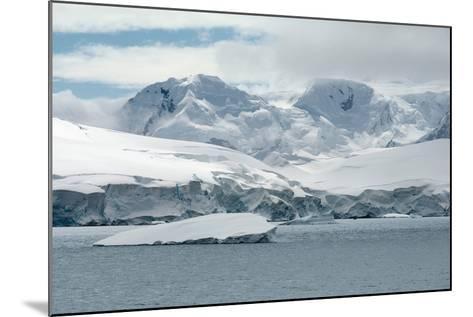 Neko Harbor, Andvord Bay, Antarctic Peninsula-dani3315-Mounted Photographic Print