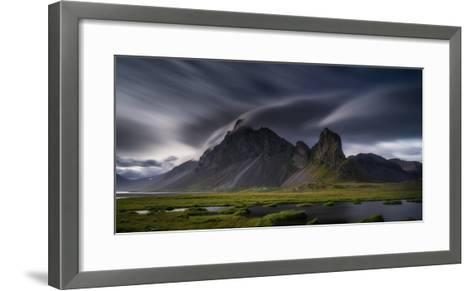 Mountain Landscape, Hvalsnes, Eastern Iceland-Ragnar Th Sigurdsson-Framed Art Print