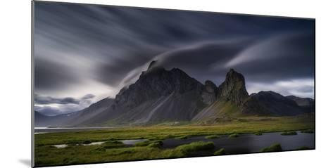 Mountain Landscape, Hvalsnes, Eastern Iceland-Ragnar Th Sigurdsson-Mounted Photographic Print