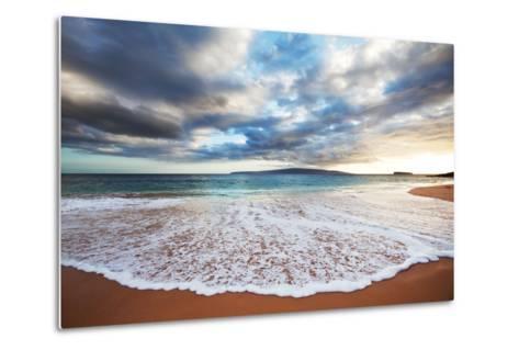 Sea on Sunset-Kamchatka-Metal Print