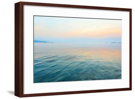 Kayaking in Thailand-Olena Serditova-Framed Art Print