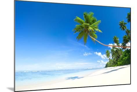 Beach-Rawpixel-Mounted Photographic Print