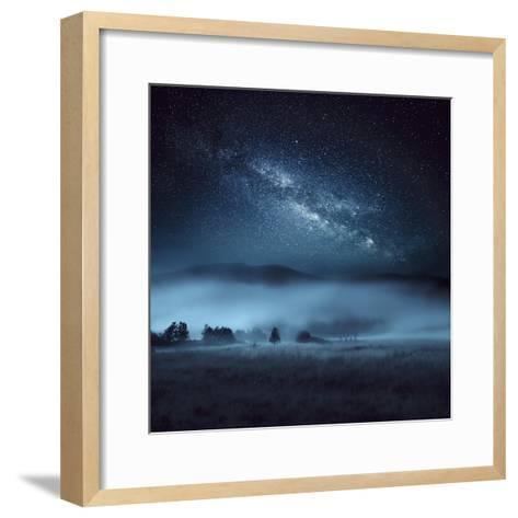 Astrophotography, Milky Way, Scotland-Galyaivanova-Framed Art Print