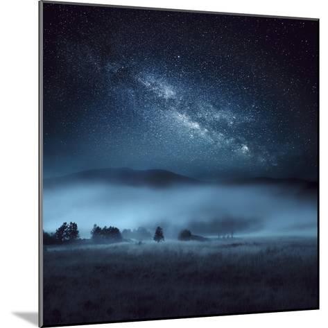 Astrophotography, Milky Way, Scotland-Galyaivanova-Mounted Photographic Print