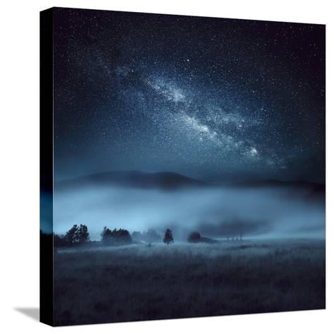 Astrophotography, Milky Way, Scotland-Galyaivanova-Stretched Canvas Print