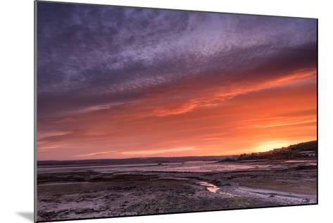 Northam Burrows First Light-Terry Mathews-Mounted Photographic Print