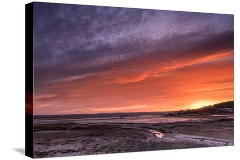 Northam Burrows First Light-Terry Mathews-Stretched Canvas Print